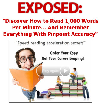 Speed Reading Acceleration Secrets